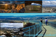 The highest lookout in the Blue Mountains